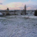 L'exploitation du producteur en hiver